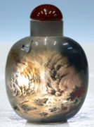 Natural Agate Snuff Bottles