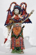 Chinese Famous Opera-Artist Porcelain Figurine